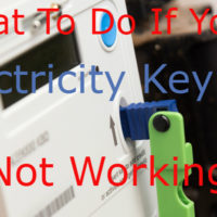 electricity key not working